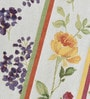 Avira Home Floral Lines Multicolour Cotton & Polyester Table Runner & Placemats - Set of 7