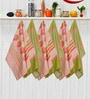Avira Home Royal Classic Multicolour Cotton Kitchen Towel - Set of 6