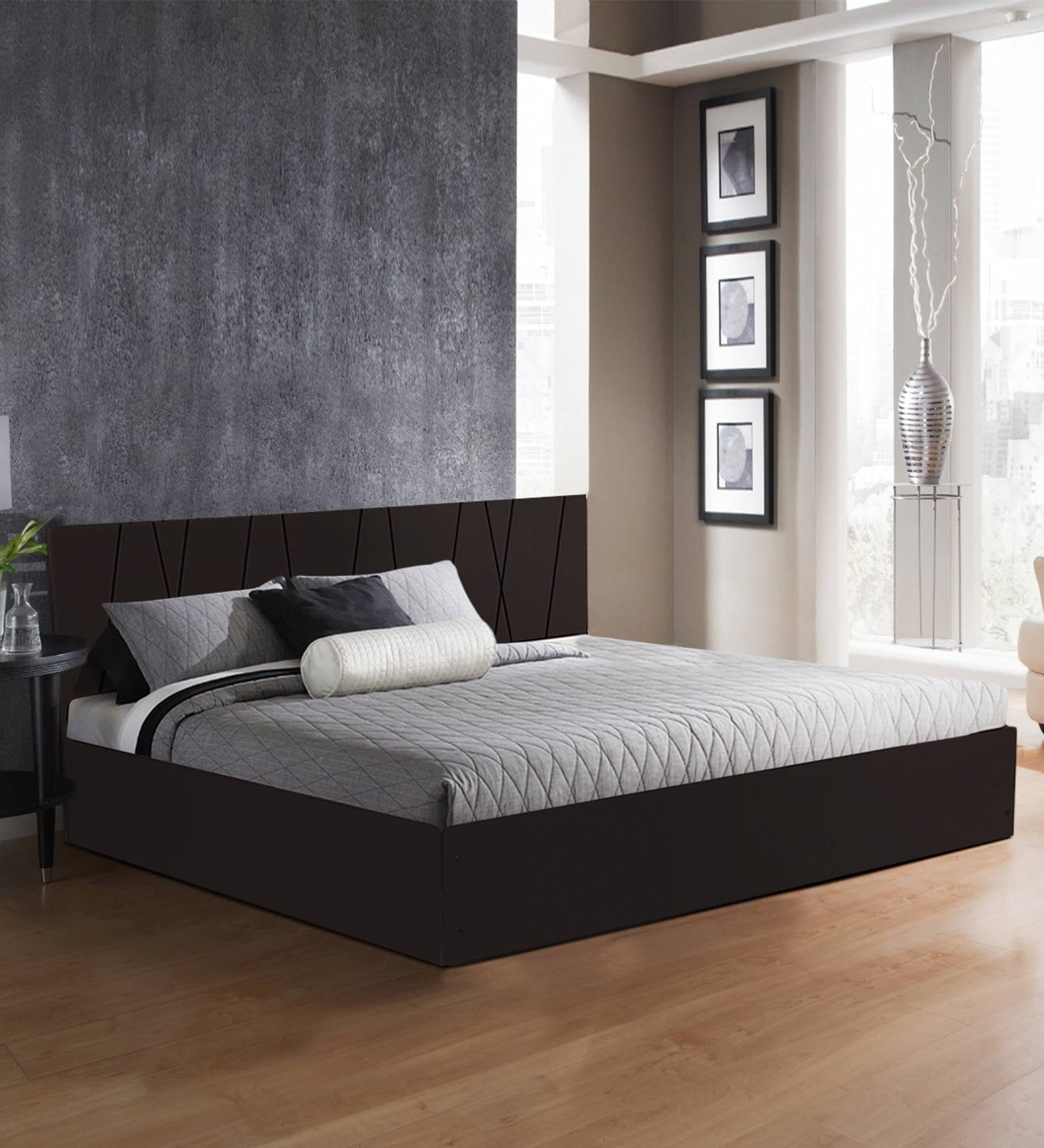 Axis King Size Bed With Storage In