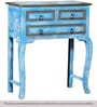 Ayumi Console Table in Distress Finish by Bohemiana