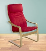 Baker Professional Chair in Red colour