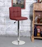 Bar Chair in Maroon Colour