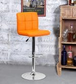 Bar Chair in Orange Colour