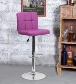 Bar Chair in Purple Colour