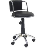 Low Bar Chair with Medium Cushioned Back