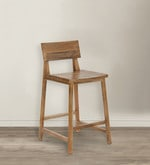 Barcelona Bar Stool in Natural Finish