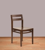 Barcelona Solid Wood Dining Chair in Provincial Teak Finish
