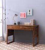 Barcelona Study & Laptop Table in Natural Finish