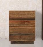 Bari Bedside Table in Walnut Finish