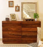 Bari Chest Of Drawers in Mahogany Finish