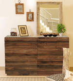 Bari Chest Of Drawers in Walnut Finish