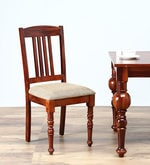 Barnsdale Dining Chair in Honey Oak Finish