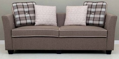 Balino Three Seater Sofa in Brown Colour