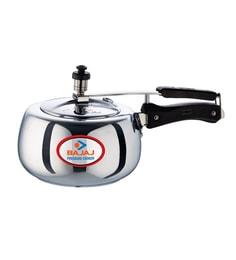 Bajaj Aluminium 3L Majesty Handi Duo Pressure Cooker at pepperfry