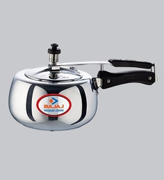 Bajaj Pcx 63D Aluminium Pressure Cooker With Innder Lid,3000 ML
