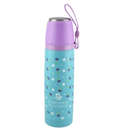 Bar World Blue & Purple Stainless Steel & Plastic 500 ML Vacuum Flask