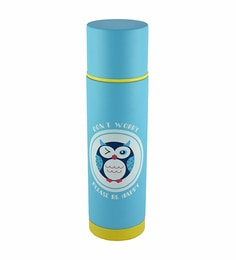 Bar World Blue Stainless Steel & Plastic 500 ML Vacuum Flask