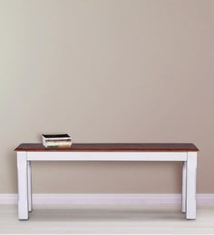Baronet Bench In Dual Tone Finish