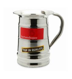 Bartan Shopee Stainless Steel Traditional Designer Water Jug Round 1200 ML