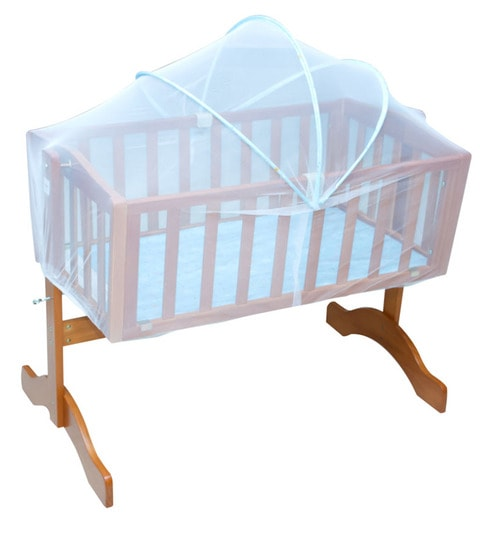 f8a02e62f Buy Engineered Wood Baby Cradle in Blue Colour by Mee Mee Online ...