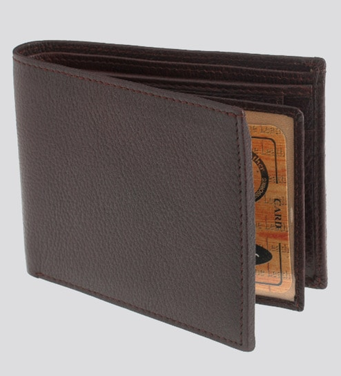 53406657b59d Bags R Us Leather Brown Wallet