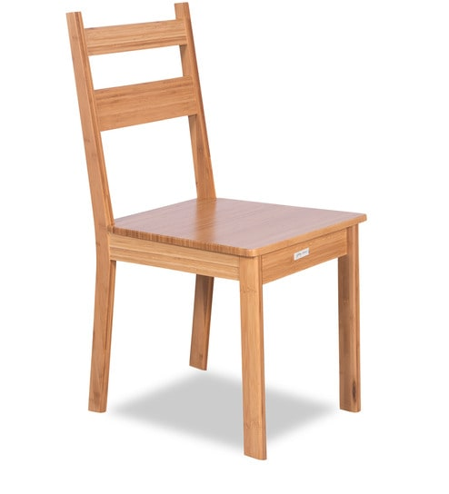 bamboo dining chairs. Bamboo Dining Chair In Camel Brown Finish By Godrej Interio Chairs