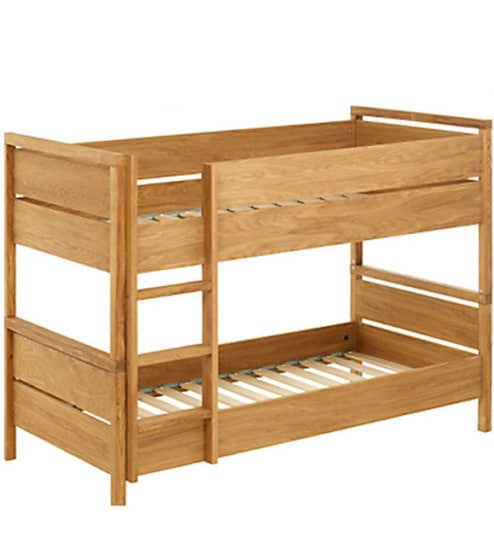 Buy Hughes Bunk Bed In Natural Sheesham By Woodsworth Online Bunk