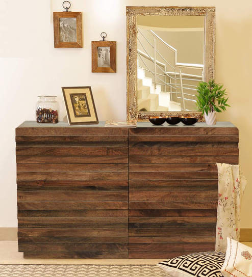 Bari Chest Of Drawers In Walnut Finish By The ArmChair