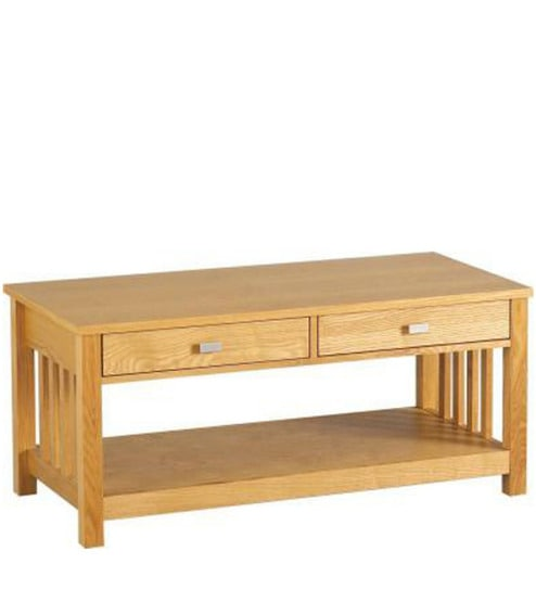 Santos Large Coffee Table In Natural Mango Wood Finish By Woodsworth - Santos coffee table