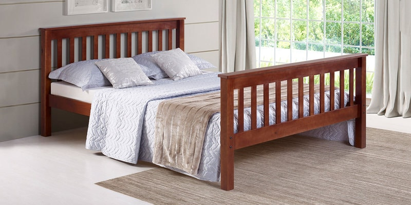 Basilica Queen Size Bed by Woodsworth