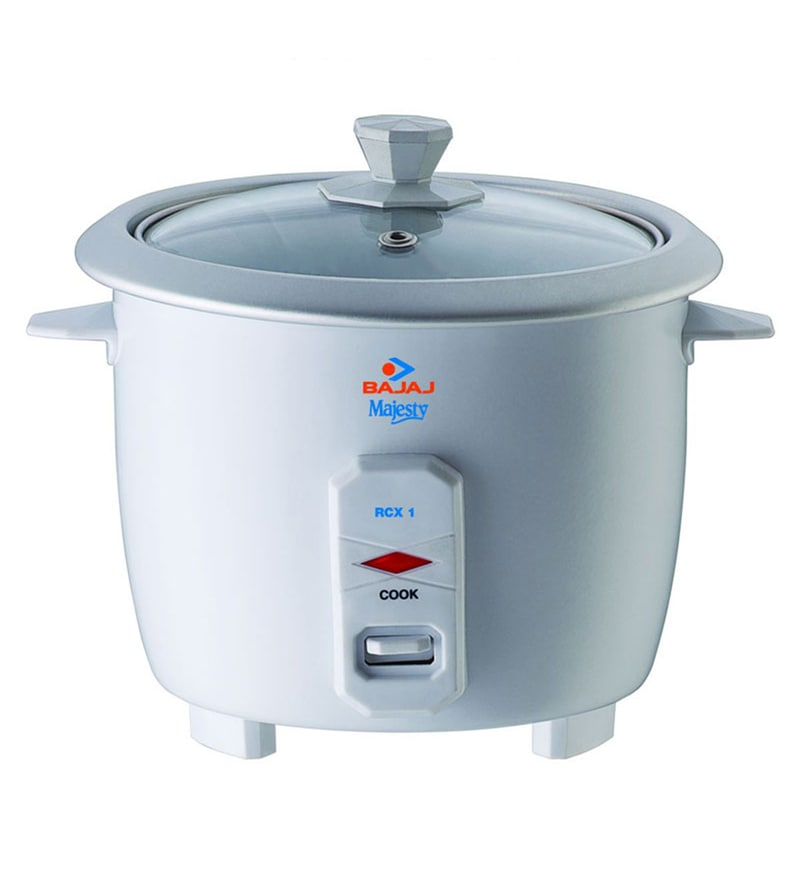 Bajaj Majesty RCX1 0.4L Mini Multifunction Cooker