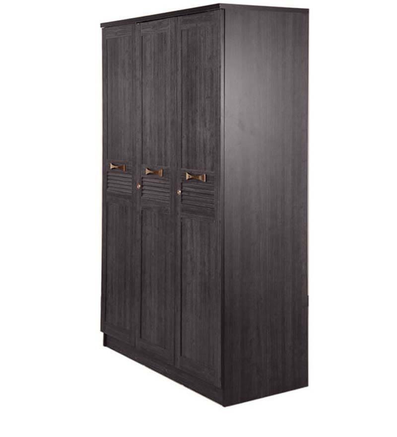 Buy Hometown Bolton Super Storage 3 Door Wardrobe Wenge