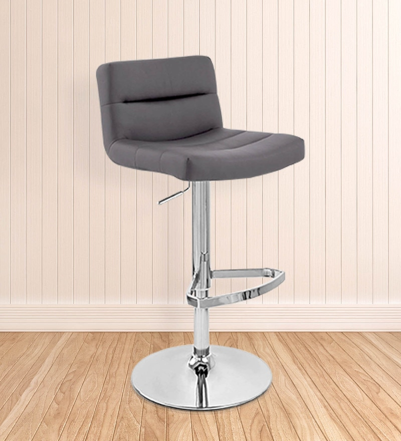 Bar Chair in Grey Colour by The Furniture Store
