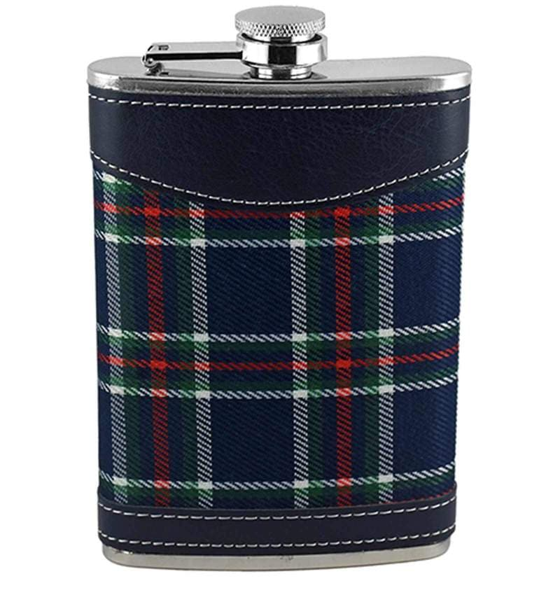 Barworld 266 ML Blue Color Hip Flask