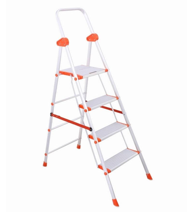 Bathla Aluminium 4 Steps 3.7 FT Ladder