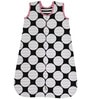 Bacati Black Dots Pink Black Sleep Sack