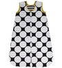 Bacati Black Dots Yellow Black Sleep Sack