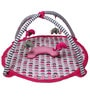 Bacati Elephant Pink Play Gym