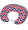 Navy Red Zigzag Nursing Pillow Cover Only by Bacati
