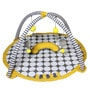Bacati Yellow Large Dots Grey Play Gym
