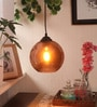 Copper Glass Ball Pendant by Bandra Flea Market