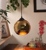 Transparent Glass Ball Pendant by Bandra Flea Market