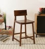 Barcelona Bar Stool in Provincial Teak Finish by TheArmchair