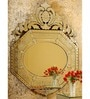 Kinsey Crown Top Wall Mirror by Venetian Design