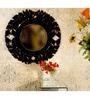Black MDF Mirror by Venetian Design