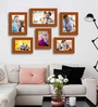 Family Brown Glass Photo Frame by Art Street