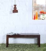 Enkel Bench in Provincial Teak Finish