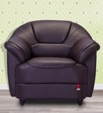 Berry One Seater Sofa in Coffee Brown Colour