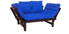Beat Futon with Blue Mattress