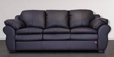 Berry Three Seater Sofa in Coffee Brown Colour